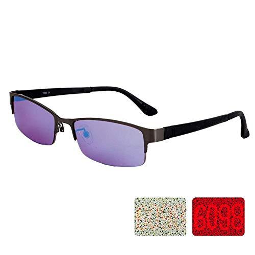 Water cup Korrekturbrillen Farbblinde Brillen Für Männer Und Frauen, Rot-Grün-Farbkorrekturbrillen, Sowohl Für Den Außen- Als Auch Für Den Innenbereich, Halfframe