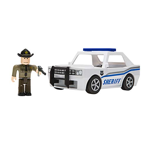 Roblox Action Collection - The Neighborhood of Robloxia Patrol Car Vehicle [Includes Exclusive Virtual Item]