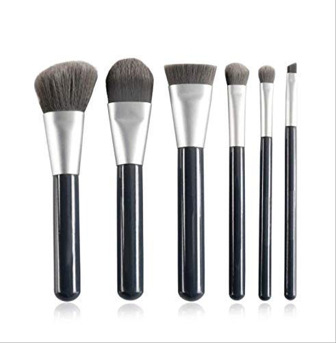 XHDMJ Beauty Tools Maquillage Brush Set 6 Piece Synthetic Foundation Concealer Eye Shadow Blush Tool