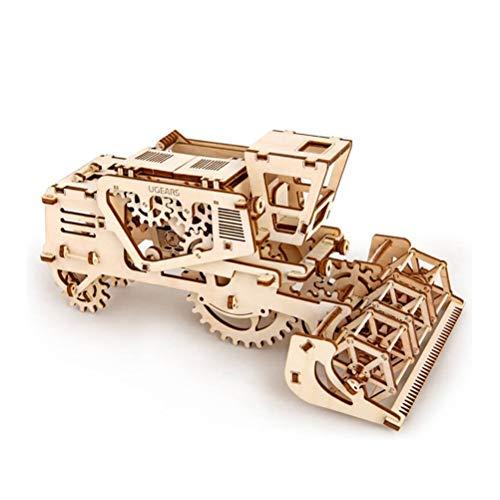 QXF-D 3D Holzpuzzle, Modellbausätze, Rahmenpuzzle Mechanische Modell Beste Spielzeug for Kinder und Erwachsene für Erwachsene Jugendliche und Kinder