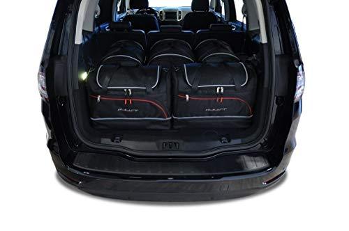 Kjust Carbags MASSGESCHNIEDERTE Reise AUTOTASCHEN FÃœR Ford Galaxy IV, 2015- CAR FIT Bags