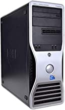 Dell Precision T3500 Mini Tower High Performance Business Desktop PC, Intel Quad Core XEON-W3550 3.06GHz up to 3.33GHz, 12GB RAM, 500GB HDD, DVD, Windows 10 Professional (Certified Refurbished)