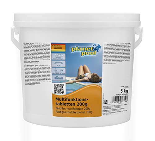 Planet Pool Multifunktions-Tabletten 200 g 5 kg