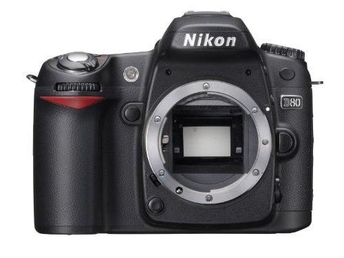 Nikon D80 - Cámara Réflex Digital 10.2 MP (Cuerpo)