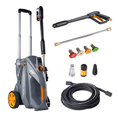 Lavadora de Alta Pressão Profissional WAP 5100 TURBO 2500W 2300 PSI/Libras 550L/h Lava Rápido Motor Indução 220V