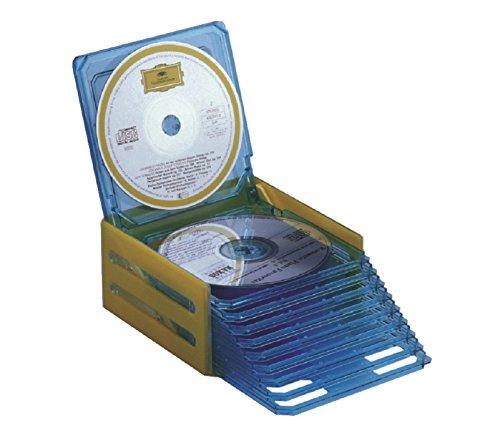 ProfiOffice CD- Tasche MT-20 Case/Etui Aufbewahrung bis zu 20 CDs/DVDs blau (07022)
