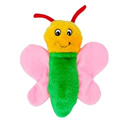 Easter Toys For Dogs - ZippyPaws Plush Butterfly dog toy.