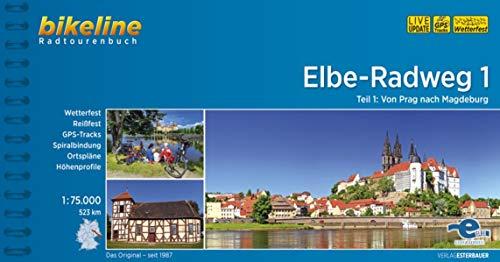 Elbe-Radweg: Teil 1: Von Prag nach Magdeburg, 1:75.000, 523 km (Bikeline Radtourenbücher)