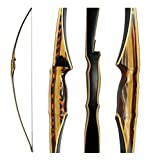 """Southwest Archery Scorpion Traditional Hunting Long Bow – 68"""" Longbow – Right & Left Hand – Draw Weights in 25-60 lbs – USA Based Company – – 45L w/Stinger"""