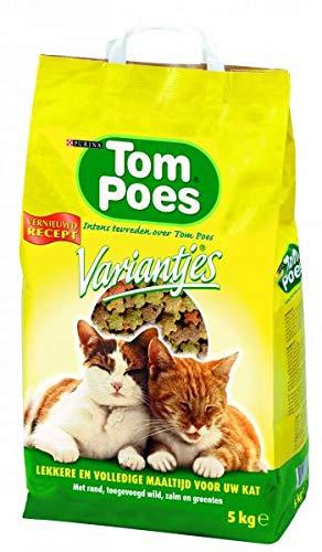 Tom poes Droog variantjes kattenvoer 5 kg