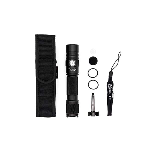 ThruNite TN12 V4 XP-L EDC LED Torch Super Bright Tactical Flashlight for Camping