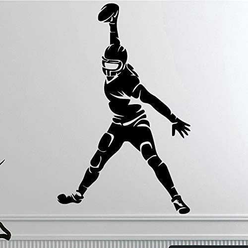 Creative Rugby for Home Living Room Vinyl Wall Stickers