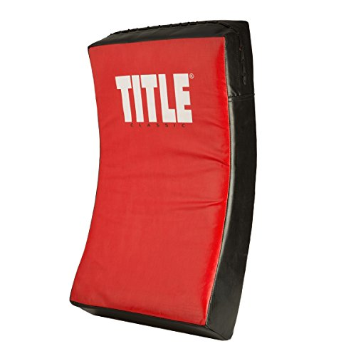 TITLE Classic Punch & Body Shield, Red/Black, Adult