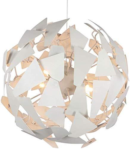 Lámparas de araña Lámpara colgante de hierro modernos saben arco DIY Combinación Wikipedia luces pendientes Ø 50 CM cromo de la lámpara de iluminación de techo for niños de Pasillo de vida Comedor Sit