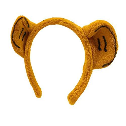 Minkissy Tigre Animal Chat Oreille Bandeaux Créatures Des Bois Cosplay Forêt Thème Costume Oreilles Bandeaux pour Année de Tigre Partie Halloween Costume