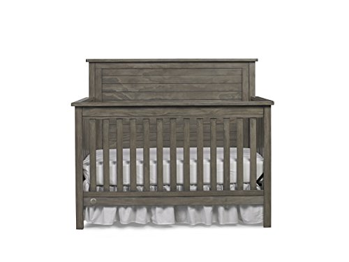 Learn More About Fisher-Price Quinn 4-in-1 Convertible Crib, Vintage Grey