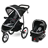 Graco FastAction Fold Jogger Travel System | Includes the FastAction Fold Jogging Stroller and SnugRide 35...