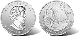 canadian bison silver coin