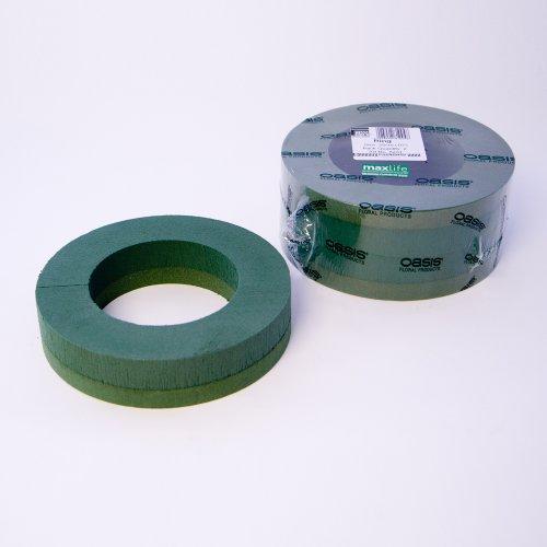 Smithers Oasis Lot de 2 anneaux en mousse 25 cm