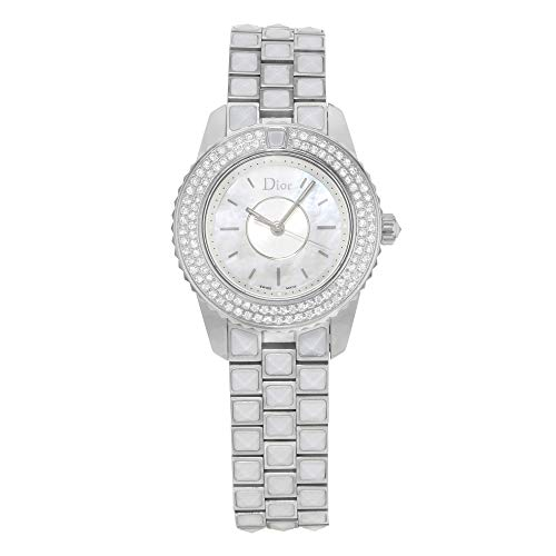 Christian Dior Christal CD112118M003 Steel & Diamonds Quartz Ladies Watch