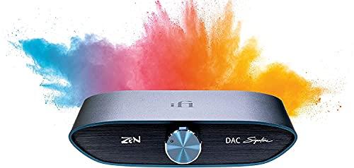 iFi Zen DAC Signature V2 HiFi Desktop DAC (Digital Analog Converter) with USB3.0 B Input / Outputs 4.4mm Balanced / RCA