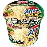 (まとめ)エースコック スーパーカップ MAX濃コクとんこつ 120g 1ケース(12食)【×2セット】