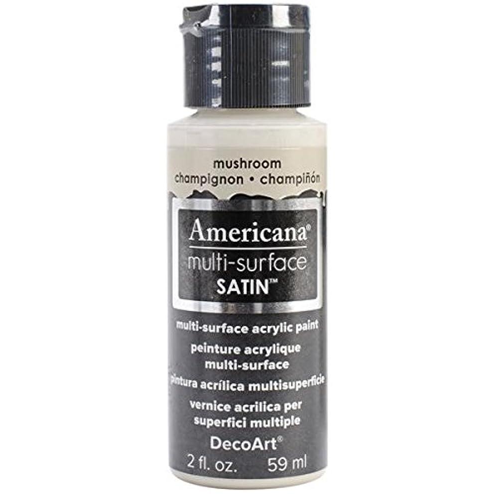 DecoArt Americana Multi-Surface Satin Acrylic Paint, 2-Ounce, Mushroom