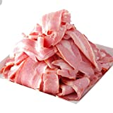 [スターゼン] ベーコン 訳あり 業務用 アウトレット 切り落とし わけあり スライス 大容量 冷蔵 人気 豚肉 豚ばら肉 美味しい (2kg)