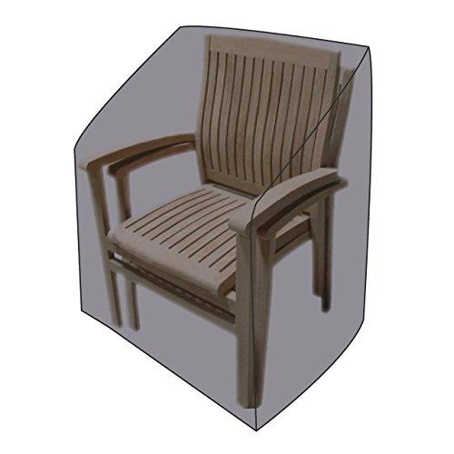 LINDER EXCLUSIV LEX Housse de protection Deluxe pour chaises empilables et relax 65 x 65 x 120/80 cm Sac de transport
