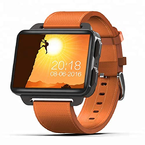 HXwsa Smart Watch, 1.3 MP Camera, 2.2 Inch Screen, Quad-Core Cpu, Bluetooth 4.0,Hartslagbewaking, Gps Wifi, Met Microfoon Sport Smart Polshorloge Armband Voor Kinderen Vrouwen En Mannen, B