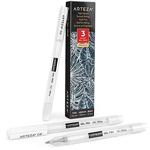 Bolígrafos de gel Arteza 60 colores individuales ...