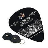 Avenged Sevenfold Guitar picks, bass guitars, acoustic guitars, bass and electric guitars, and acoustic guitar gifts 6PACK 0.96mm