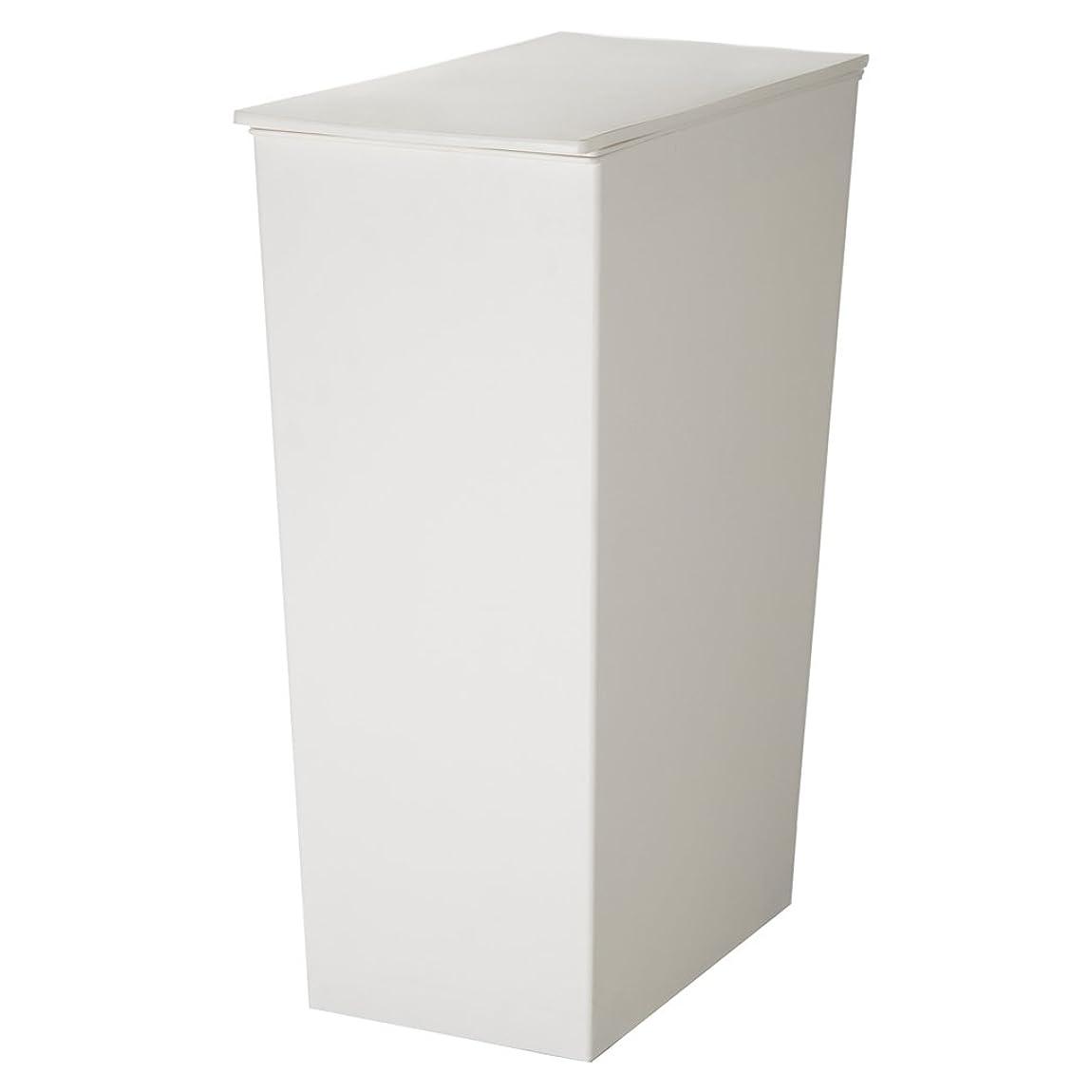 ドレス放課後アマチュアI'mD(アイムディ) ゴミ箱 クード シンプル スリム ホワイト KUDSP-SLW