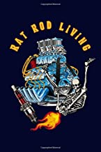 Rat Rod Living: Dot Grid Journal, 100 pages