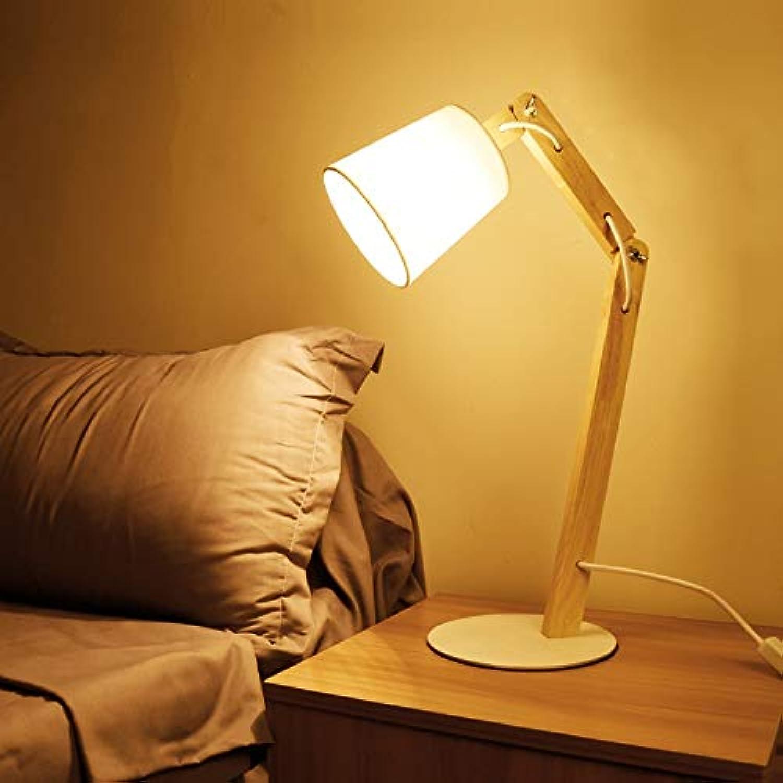 Schlafzimmeraugenschutztischlampe einfache moderne kreative Persönlichkeit, die lernt, warme warme Nachttischlampe zu lesen (Farbe   A) B07J47LC32 | Ermäßigung
