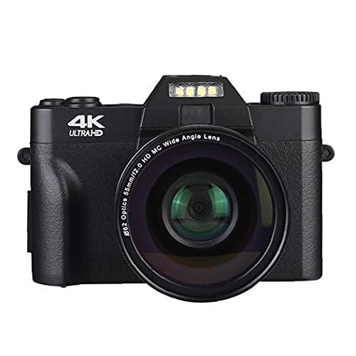 Cámara digital Vlogging Video Digital Camcorder 48.0 para fotografía para principiantes YouTube...