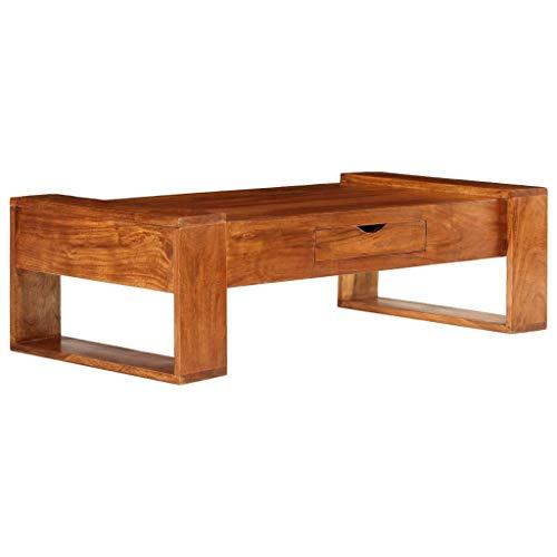 Tidyard Table de Bar Bois Table de Bar Ext/érieur 60 x 60 x 105 cm en Bois dacacia Solide