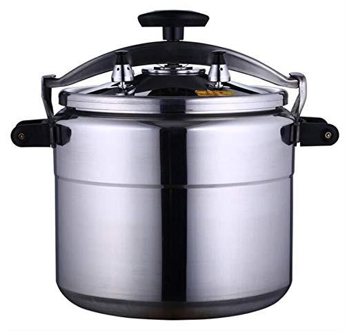 XGHW Cocina de presión de aleación de Aluminio Gran Capacidad Disponible Multi-Cocinero Cocina Lenta Steamer y Wok Base de inducción de la Olla rápida Cocina Cocina 3L-70L (Color : Silver, Size : 5L)