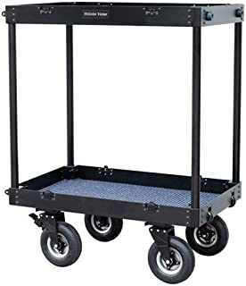 """PROAIM Victor 36"""" x 24"""" Camera Equipment Cart Trolley   Adjustable Folding Aluminum Truck   DIT/Sound/Lighting/Dolly Storage Cart, Payload 300kg/661lb   for Photographers & Videomakers (CT-VCTR-36)"""