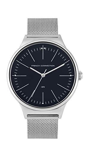 French Connection Quarz Uhr mit Edelstahl Armband FC144SM