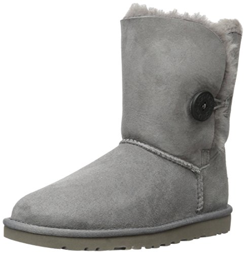 Ugg Bailey Button, Stivali, Donna, Grigio (Grey), 39