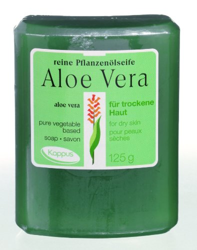 Kappus Pflanzenölseife Aloe Vera, 125g