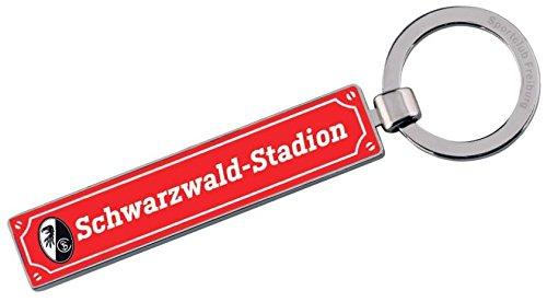 SC Freiburg Schlüsselanhänger Straßenschild