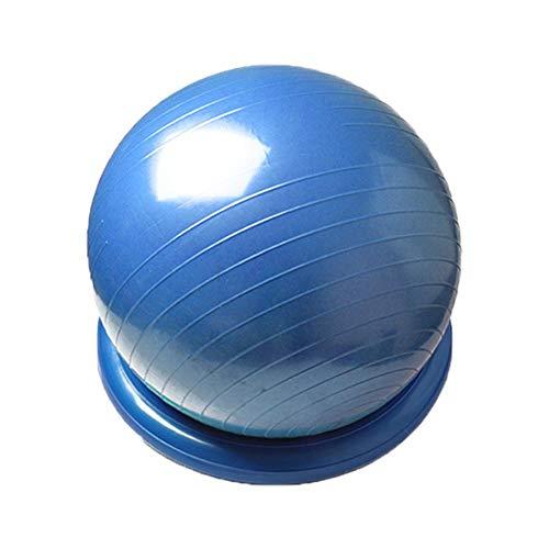 prom-note Gymnastikball Pezziball 60cm Yoga-Ball Fester Ring Verdickt Explosionsgeschützter Einsteiger-Fitnessball Yoga-Ball Positionierungsring Für Den Heimgebrauch