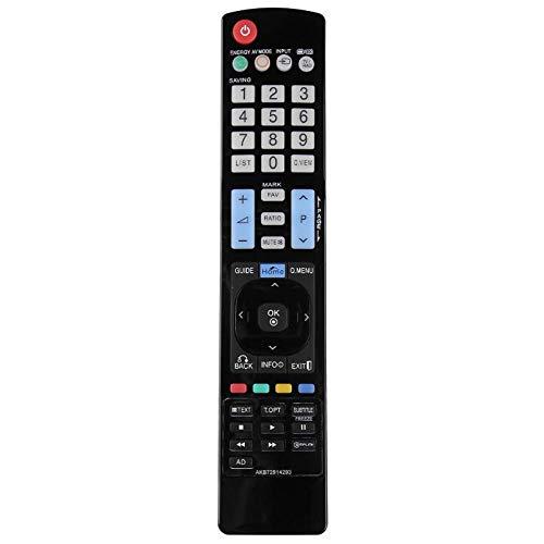 Nrpfell AKB72914293 Reemplazo De Control Remoto Inteligente De TV LCD para LG 42LW450U 42LW451C 42LW540U 42PT250A-ZA 42PT250K-ZA