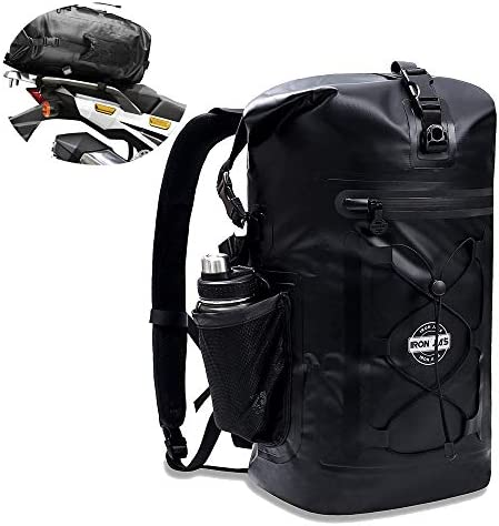 Motorcycle Backpack Waterproof Gear Bags 35L Fixable Motorcycle Luggage Seal Dry Bag with Front product image