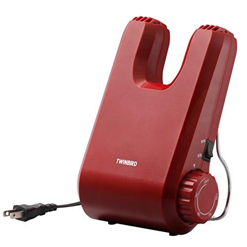 TWINBIRD くつ乾燥機 レッド SD-4546R