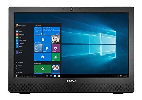 "MSI Pro24T 4BW-021XEU Ordinateur Portable Hybride 22"" Noir (Intel_Core_2_Quad, 64 Go de RAM, 256 Go, AMD Radeon HD 6450, Windows 10 Home) Clavier AZERTY français"