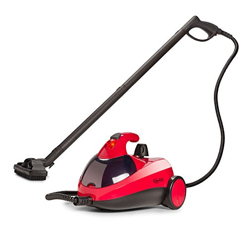 GlenPro GPSC-1500 Heavy Duty Steam Cleaner with Full Accessories - Steams for 45 Minutes Chemical Free 1500 Watts of Steam Power for Counters, Most Floors, Appliances, Autos, Windows, and More