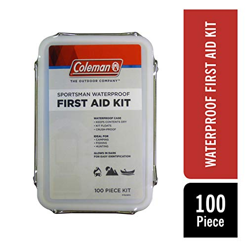 Coleman Sportsman Outdoor Waterproof First Aid Kit - 100 Pieces